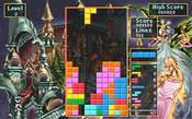 "Level 2 screen from Spectrum HoloByte's ""Tetris Classic"" for PC, circa 1992."
